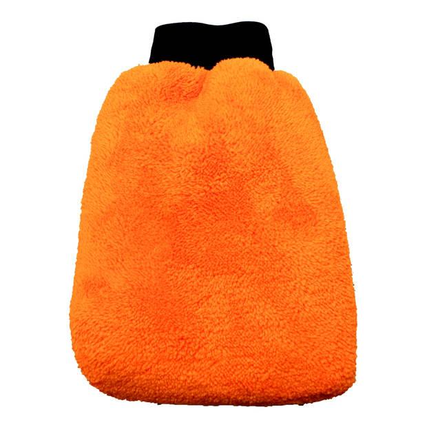 Auto washandschoen microvezel
