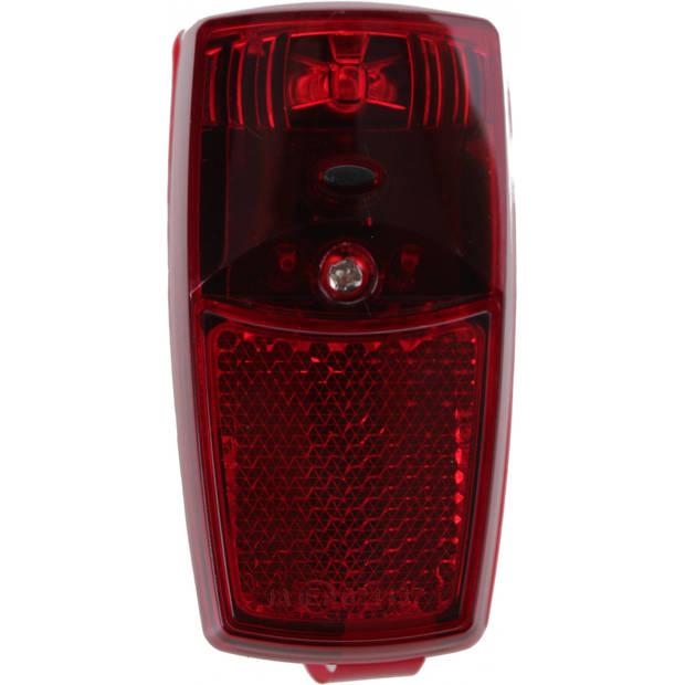 Cycle Tech achterlicht spatbord batterij led rood