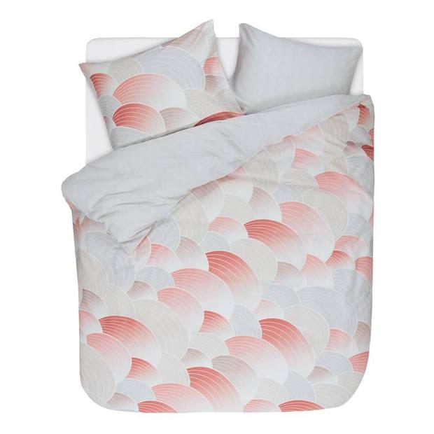 Esprit Waves dekbedovertrek - 100% katoen-satijn - 2-persoons (200x200/220 cm + 2 slopen) - 2 stuks (60x70 cm) - Multi