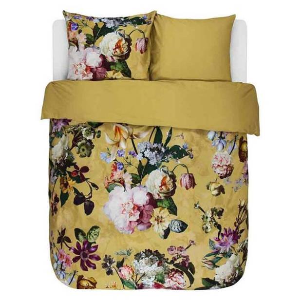 Essenza dekbedovertrek Fleur - Gouden Geel - Lits-jumeaux 240x200/220 cm