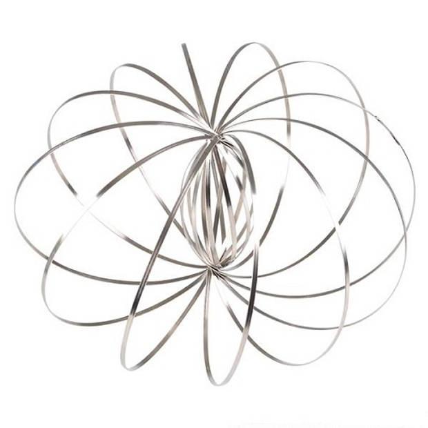 Jonotoys Magic Rings 13 cm zilver