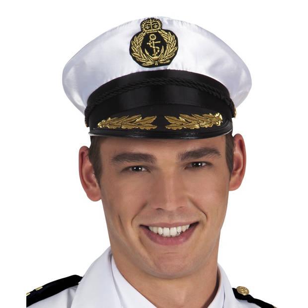 Boland pet Admiraal Edward heren wit/zwart one size