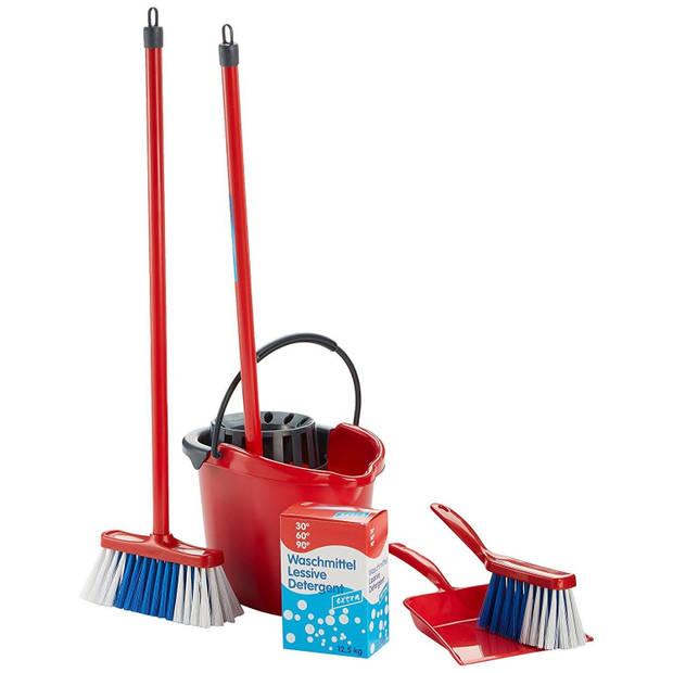 Vileda speelgoed schoonmaakkar met accessoires 7-delig