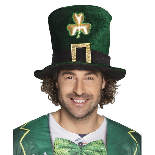 Boland hoed Sint Patrick's Day heren groen one size