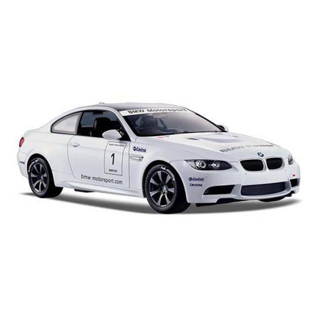 Rastar RC BMW M3 schaal 1:14 wit 30 cm