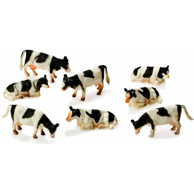 Kids Globe koeien 8 stuks