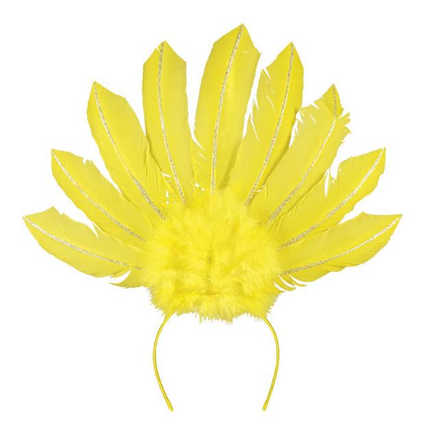 Boland tiara Samba dames geel one size