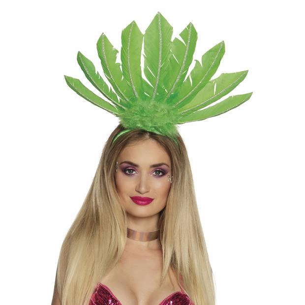 Boland tiara Samba dames groen one size