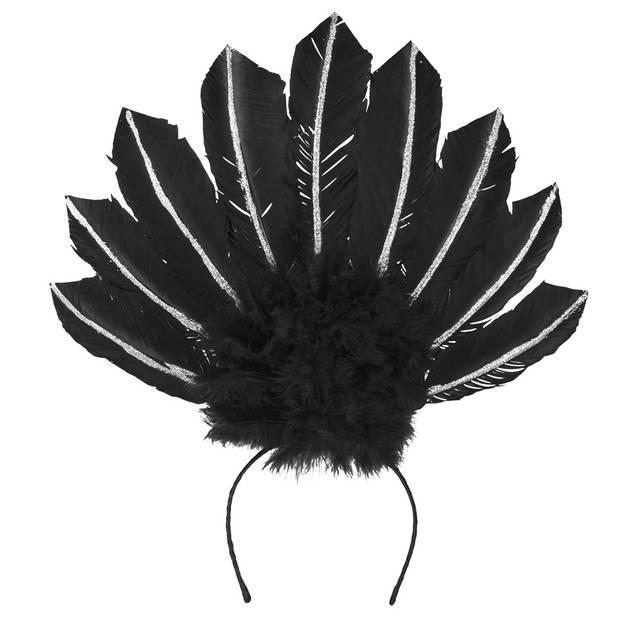Boland tiara Samba dames zwart one size