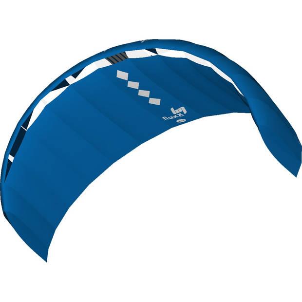 HQ Kites tweelijnsmatrasvlieger Fluxx 220 cm blauw