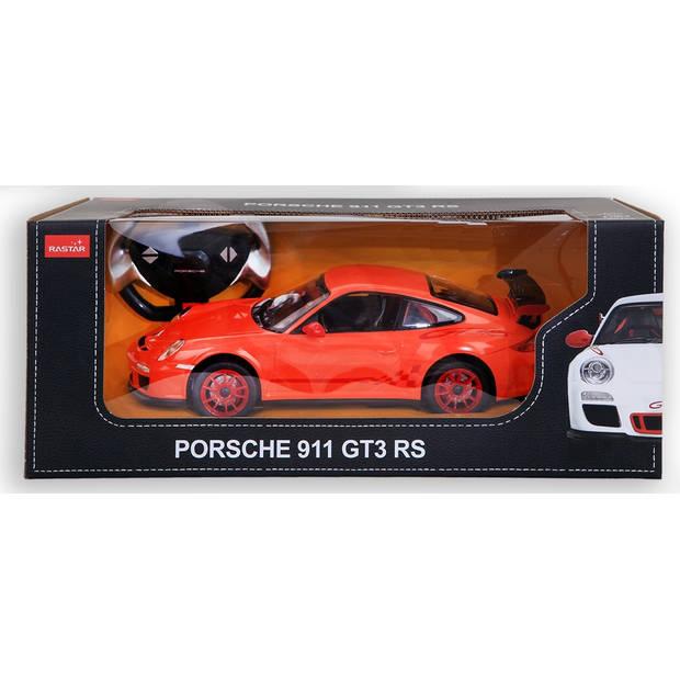 Rastar RC Porsche GT3 RS 30 cm schaal 1:14 oranje