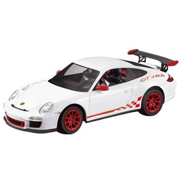 Rastar RC Porsche GT3 RS 30 cm schaal 1:14 wit