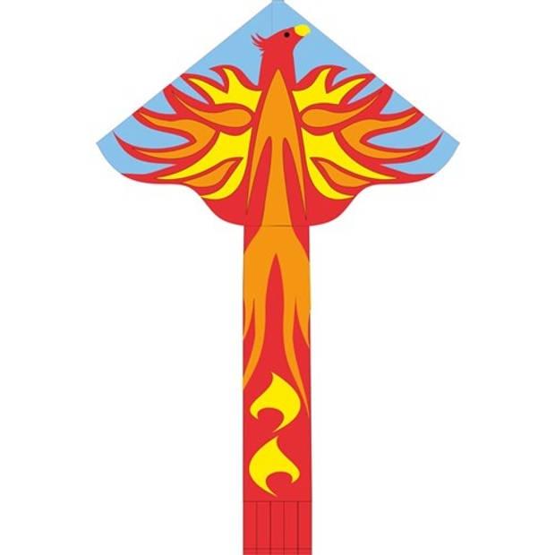 Invento eenlijnsvlieger Simple Flyer Phoenix 120 cm rood