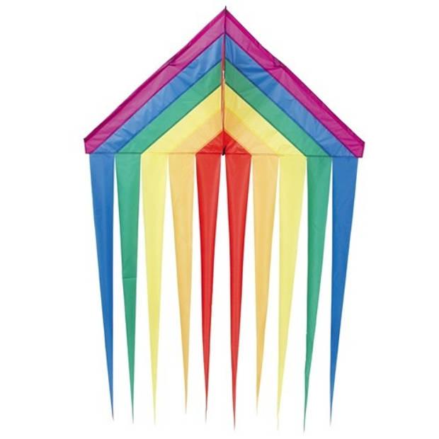 Invento eenlijnskindervlieger Delta Rainbow 134 cm