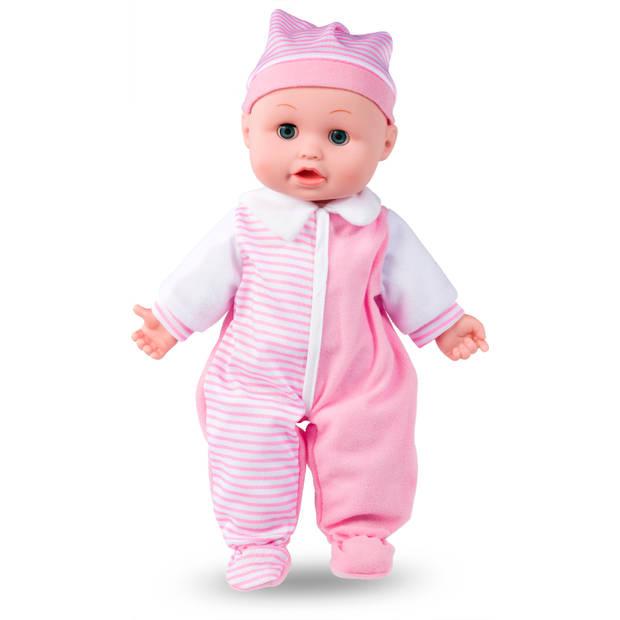 Blokker interactieve babypop - Roze