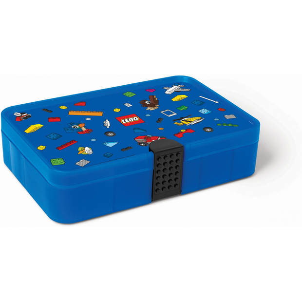 LEGO sorteerkoffer blauw