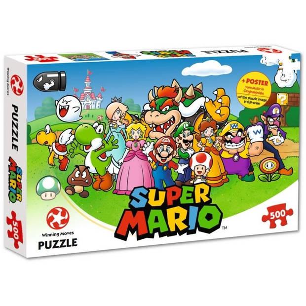 Winning Moves legpuzzel Super Mario 500 stukjes