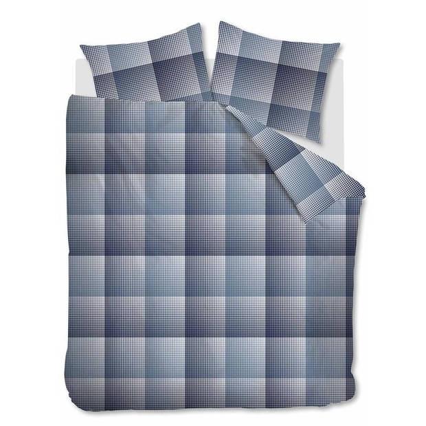 Beddinghouse Graham flanel dekbedovertrek - 1-persoons (140x200/220 cm + 1 sloop)