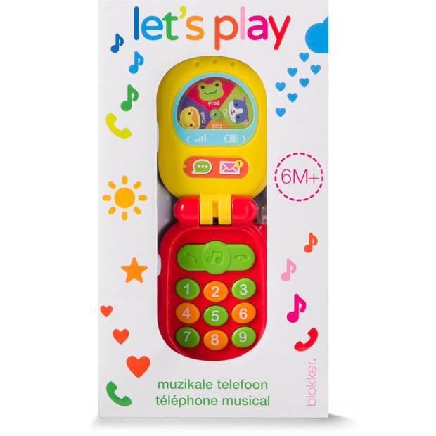 Blokker Let's Play muziektelefoon