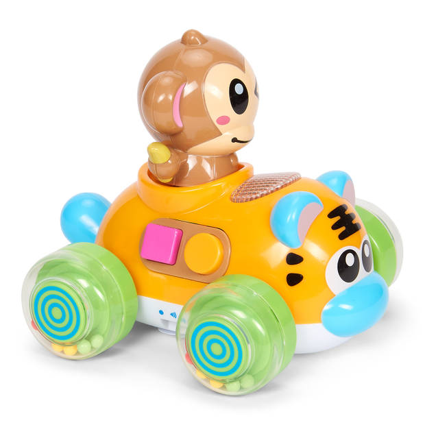 Blokker Let's Play muziekauto met aap