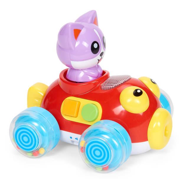 Blokker Let's Play muziekauto met kat