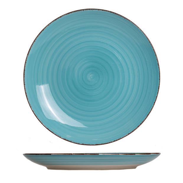 Studio Tavola Dinerborden Ocean Blue Ø 26.5 cm - 6 Stuks