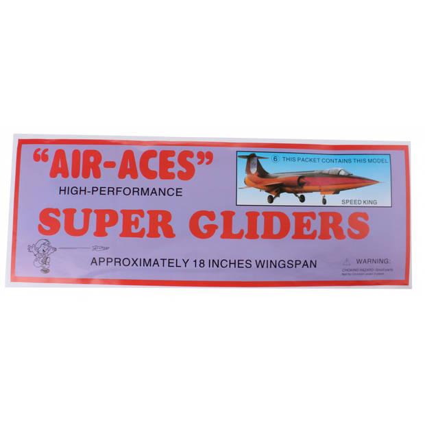 Jonotoys vliegtuig foam air-aces super speedking 45 cm