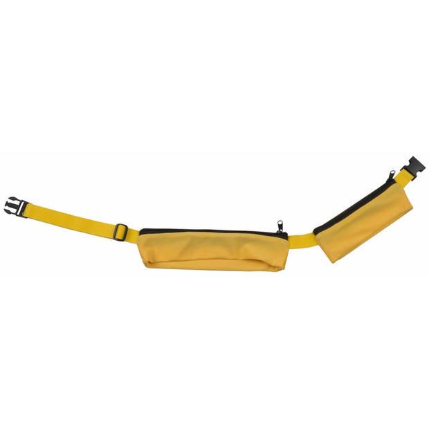 Gele reis heuptas met 2 vakjes 80-107 cm