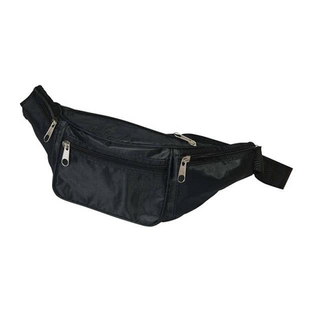 Voordelig heuptasje zwart