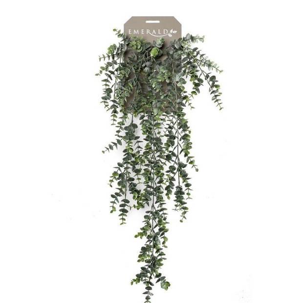 Kunstplant groene Eucalyptus hangplant/tak 75 cm