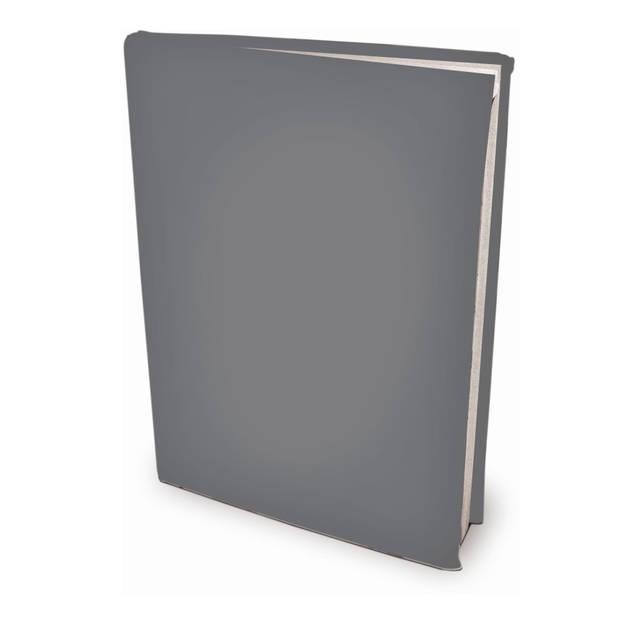 Rekbare boekenkaften - Grijs - A4 - 6 stuks