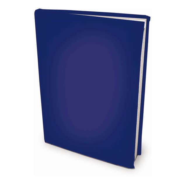 Rekbare boekenkaften - Donkerblauw - A4 - 6 stuks