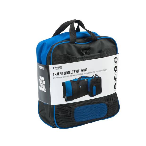 Princess Traveller Amalfi wheelerbag - zwart/blauw