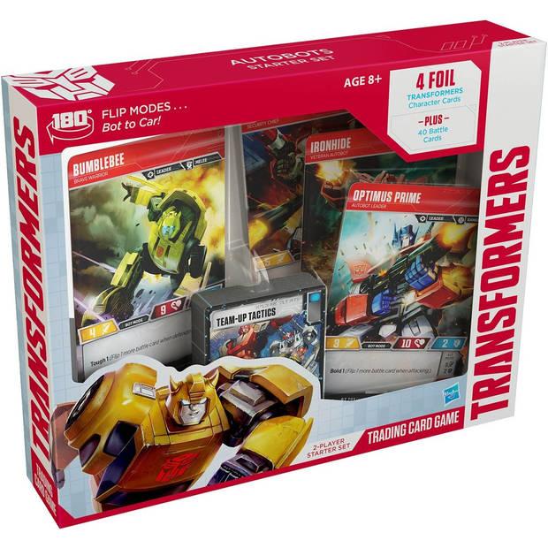 Wizards of the Coast kaartspel Transformers startersset (en)