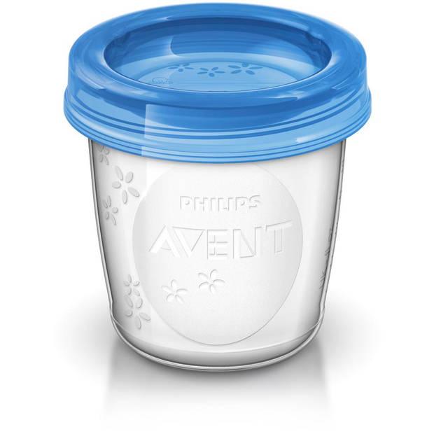 Philips Avent bewaarbekers moedermelk SCF618/10