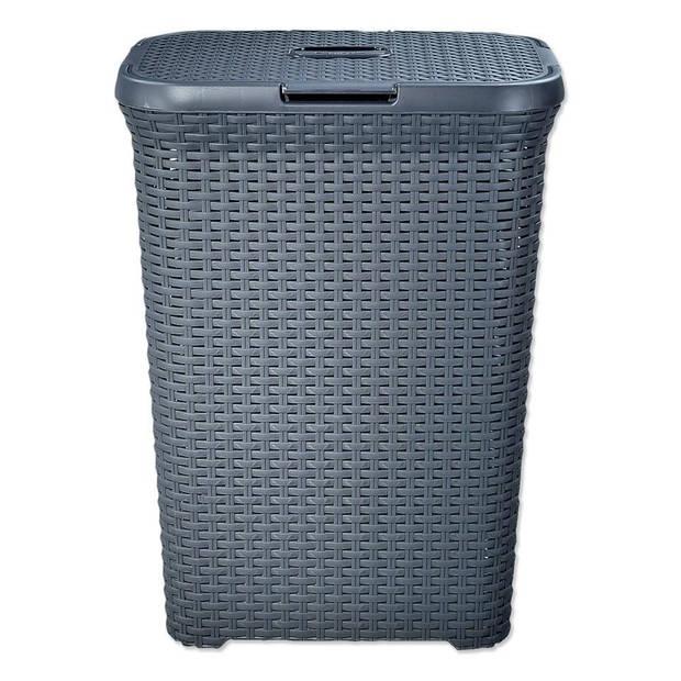 Curver Style wasbox - 60 liter - grijs - set van 2