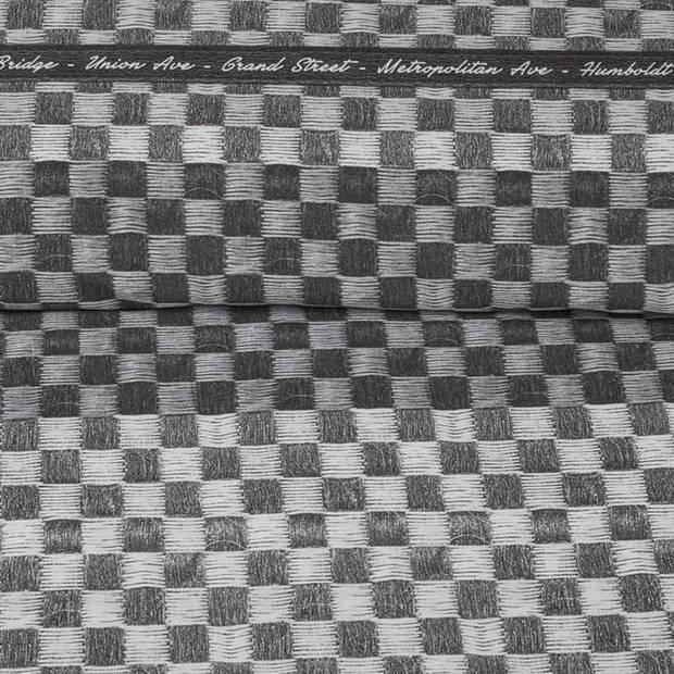 Rivièra Maison Union Ave dekbedovertrek - 1-persoons (140x200/220 cm + 1 sloop)