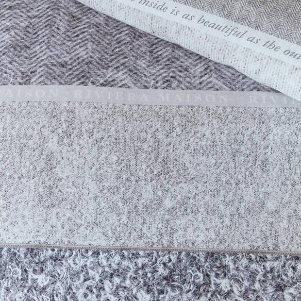 RiviËra Maison Rivièra Maison Softness dekbedovertrek - Lits-jumeaux (260x200/220 cm + 2 slopen) - Katoen - Sand