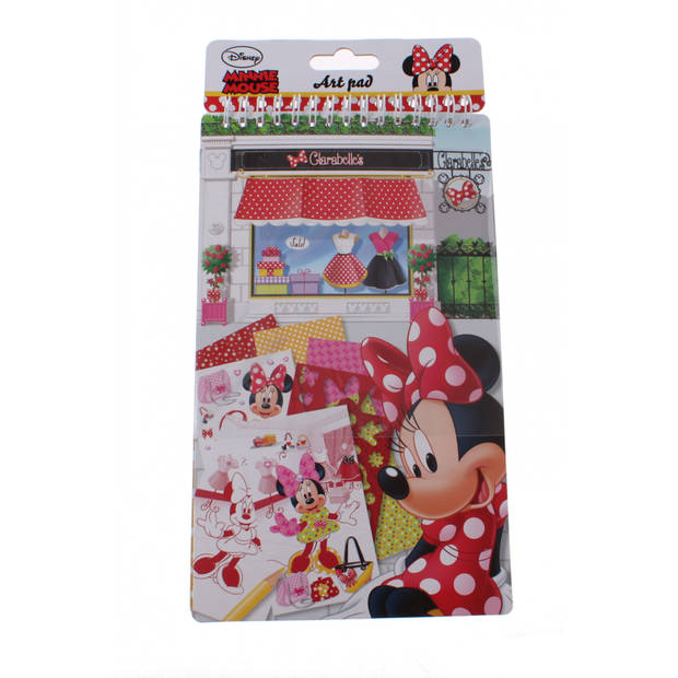 Disney schetsblok Minnie Mouse 14 x 24 cm
