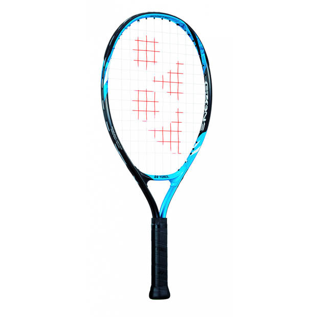 Yonex tennisracket EZone 21 junior blauw gripmaat L0
