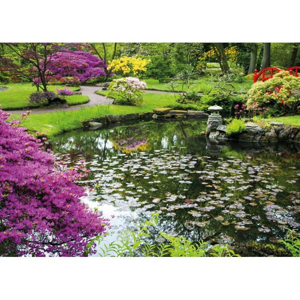 Tuinschilderij Pond 70x130cm