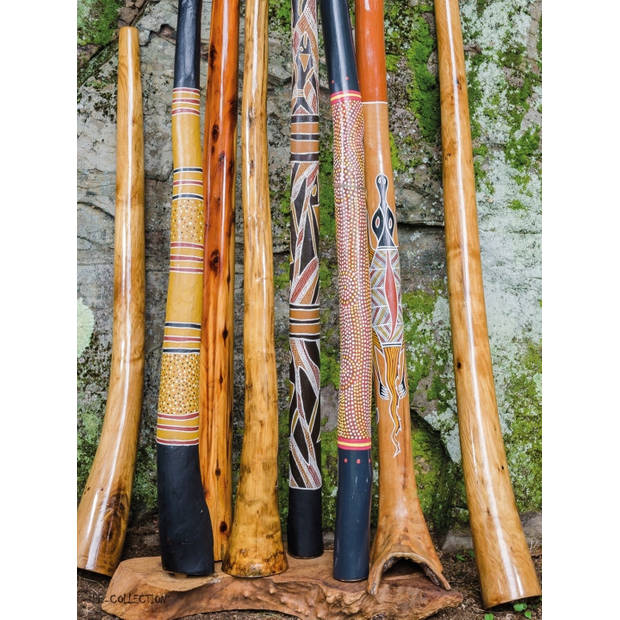 Tuinschilderij Down Under Didgeridoo 70x130cm