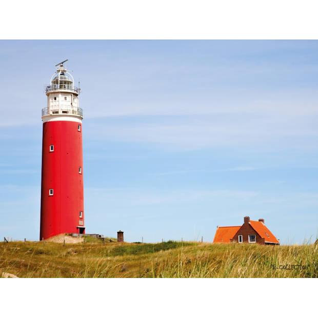 Tuinschilderij Maritime Lighthouse 70x130cm