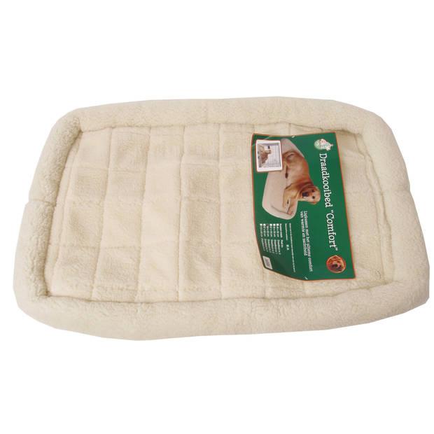 Draadkooibed comfort ivoor 84 x 52 cm
