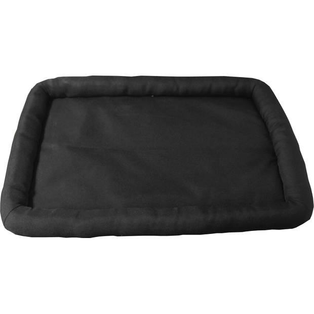 Draadkooibed waterproof zwart 84 x 52 cm