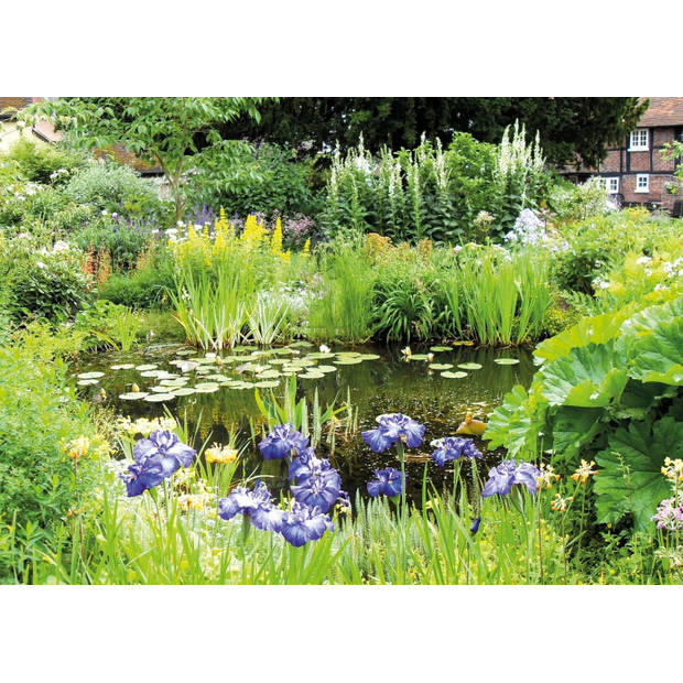 Tuinschilderij Pond green 70x130cm