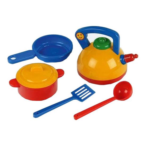Klein speelgoed pannenset 5-delig