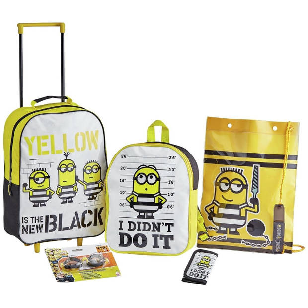 Universal bagageset Minions 5-delig