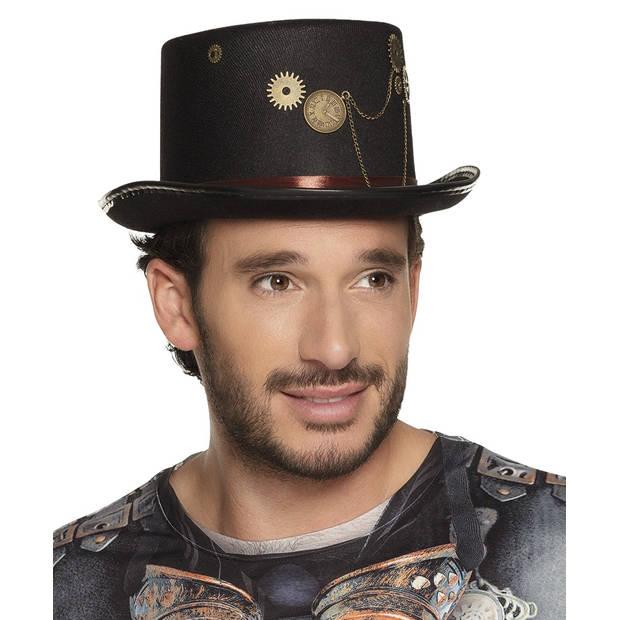 Boland hoed steamclock zwart one size