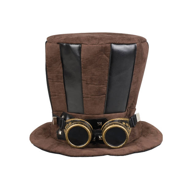 Boland hoed steampunk one size bruin